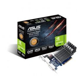 ASUS GT 710 2GB DDR3 64bit Dual Slot, Passive Low Profile Graphics Cards, Blue/Silver