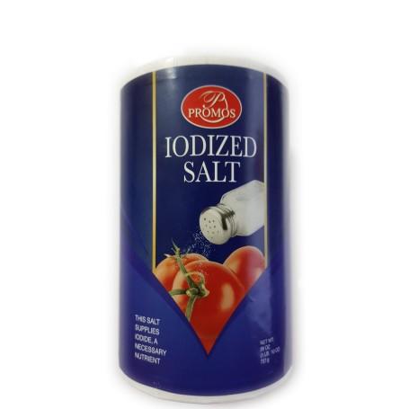 Promos Iodized Salt - 737g - Front