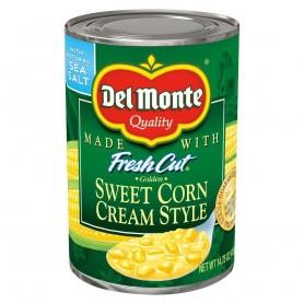 Del Monte - Corn - Cream Style 14.75 oz - Front