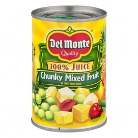 Del Monte - Fruit - Mixed Chunky - Fruit Naturals 100% 15 oz