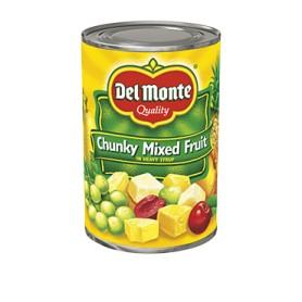 Del Monte - Fruit - Mixed Fruit Chunky 15.25 oz