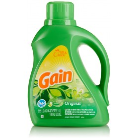 Gain Liquid Laundry Detergent, Original Scent, 64 loads, 100 fl oz