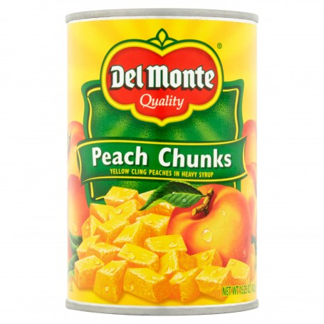 Del Monte - Fruit - Peach Chunks 15.25 oz