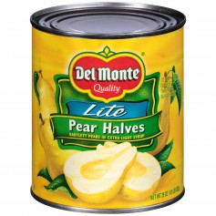 Del Monte - Fruit - Pear Halves Lite 29 oz