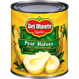 Del Monte - Fruit - Pear Halves 29 oz