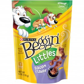 Purina Beggin' Littles Bacon Flavor Dog Snacks 6 oz.