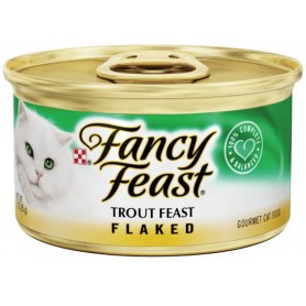 Purina Fancy Feast Flaked Trout Feast Cat Food 3 oz