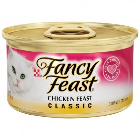 Purina Fancy Feast Classic Chicken Feast Classic Cat Food 3oz