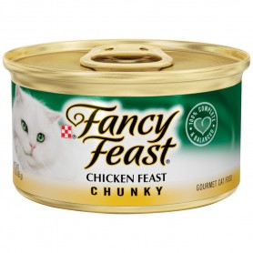 Purina Fancy Feast Chunky Chicken Feast Cat Food 3 oz