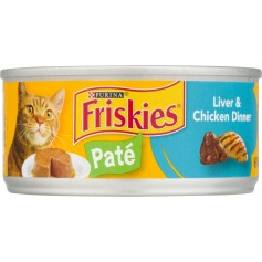 Purina Friskies Pate Liver And Chicken Dinner 5.5 OZ