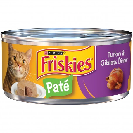 Purina Friskies Shreds with Turkey And Giblets in Gravy Cat Food 5.5 oz