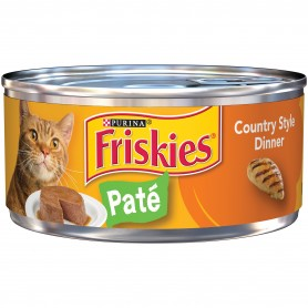 Purina Friskies Country Style Dinner Pate Cat Food 5.5 oz