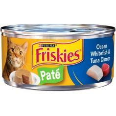 Purina Friskies Classic Pate Ocean Whitefish And Tuna Dinner 5.5 oz