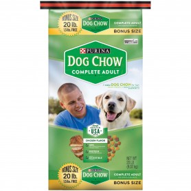 Purina Dog Chow Complete Adult Dog Food 20 lb
