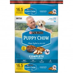 Purina Puppy Chow Complete Dry Dog Food 16.5 Lb