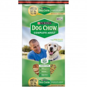 Purina Dog Chow Complete Adult Dog Food 57 lb