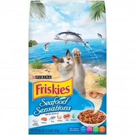 Purina Friskies Seafood Sensations Cat Food 3.15 lb