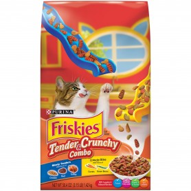 Purina Friskies Tender And Crunchy Combo Cat Food 3.15 lb