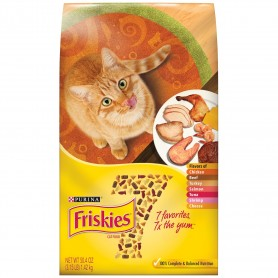 Purina Friskies 7 Cat Food 3.15 lbs