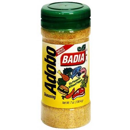Badia Adobo Seasoning Without Pepper 7oz