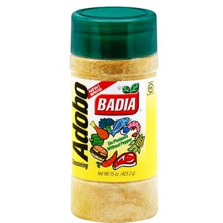 Badia Adobo Without Pepper 15oz