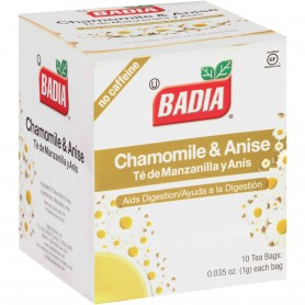 Badia Chamomile And Anise Tea Bags 0.35 oz 10bags