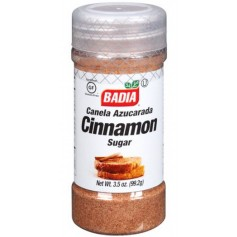 Badia Cinnamon Sugar 3.5oz