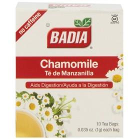 Badia Chamomile Tea Bags 0.035oz 10 Bags