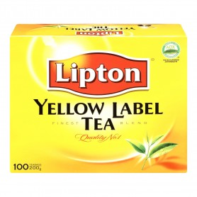 Lipton Yellow Label Tea Bags 100s 200g