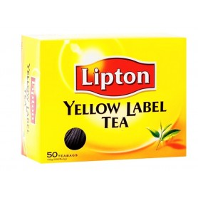 Lipton Yellow Label Tea Bags 50s 100g