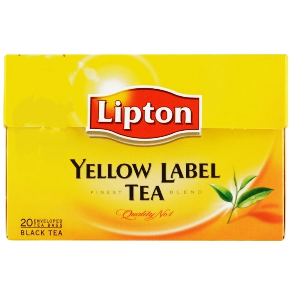Lipton Yellow Label Tea Bags 20s 40g