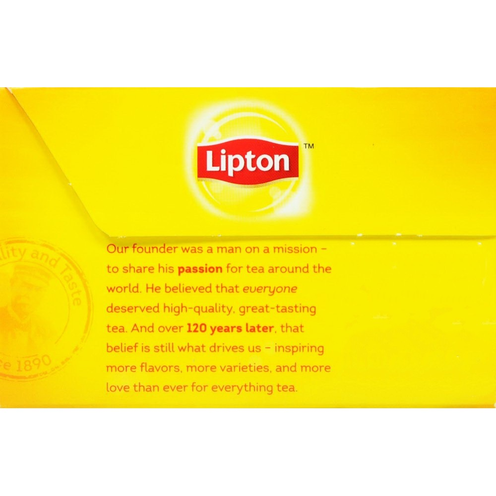 Lipton Yellow Label Tea Bags 100s 200g Gtplaza Inc