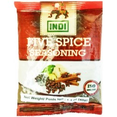Indi Five Spice Seasoning 40g