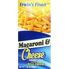 Ervin's Finest Macaroni And Cheese 206g
