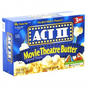 Act 11 Microwavable Popcorn Movie Theater Butter 8.25oz