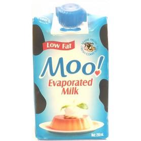 Moo! Evaporated Milk Low Fat 250ml