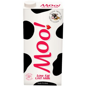 Moo! Low Fat UHT Milk 1 Liter