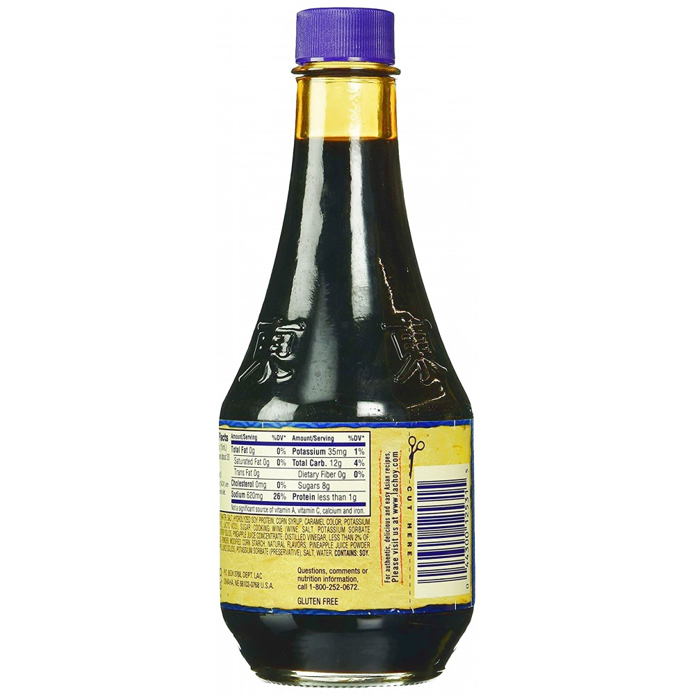 30 teriyaki sauce nutrition label  labels design ideas 2020