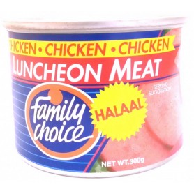 Family Choice Halaal Luncheon Meat 300g