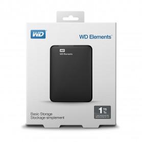 WD 1TB Elements Portable External Hard Drive - USB 3.0