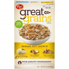 Post Banana Nut Crunch - Front