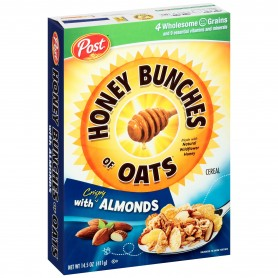 Post - Honey Bunches Of Oats - Cripsy Almonds 14.5 oz