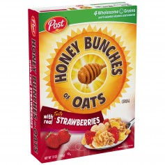 Post - Honey Bunches Of Oats - Strawberries 13 oz