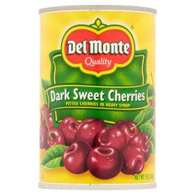 Dark Sweet Pitted Cherries 15oz - Front