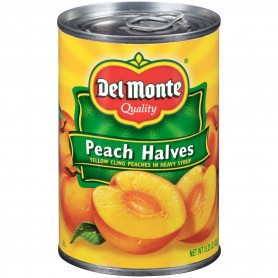 Del Monte - Fruit - Peach Halves 15.25 oz