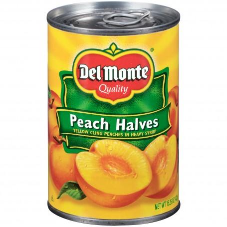 Del Monte - Fruit - Peach Halves 15.25 oz
