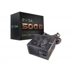 EVGA 500 B1, 80+ BRONZE 500W Power Supply