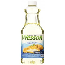 Wesson Vegetable Oil 48oz