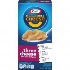 Kraft Macaroni And Cheese Three Cheese 206g