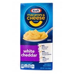 Kraft Macaroni And Cheese White Cheedar 206g